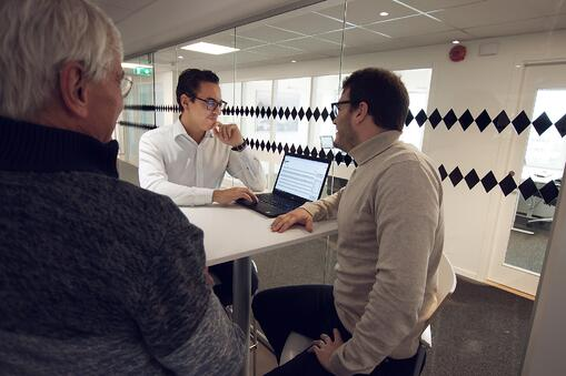 Hur våra medarbetare på Tribia hjälper dig att digitalisera och nå projektlycka