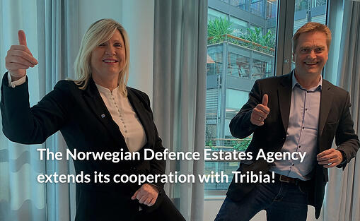 The Norwegian Defence Estates Agency extends its cooperation with Tribia!