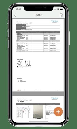 Phone signature iphone