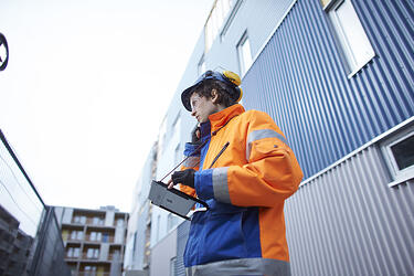 Vinster för byggbranschen med digitalt informationsutbyte
