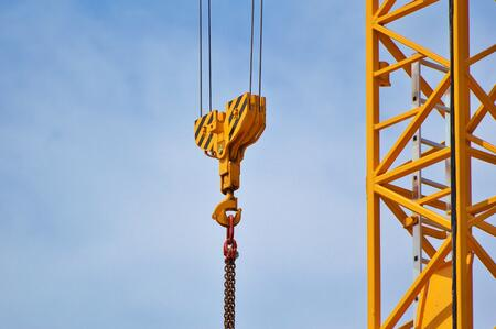 blue-sky-cables-chain-construction-machinery-532079