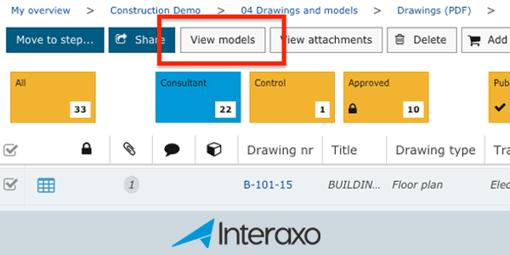 Vis IFC-modeller fra flere oppføringer samtidig