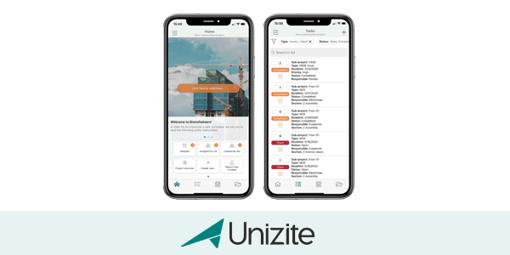 Oppdateringer i Unizite-appen
