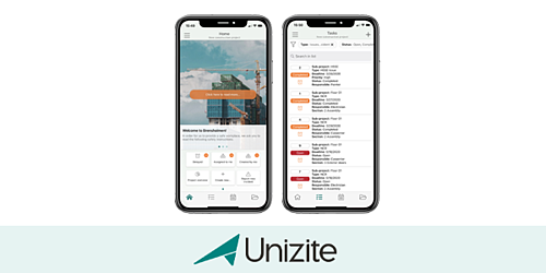 New improvements in the Unizite app