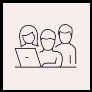 icons-red_Teamwork laptop