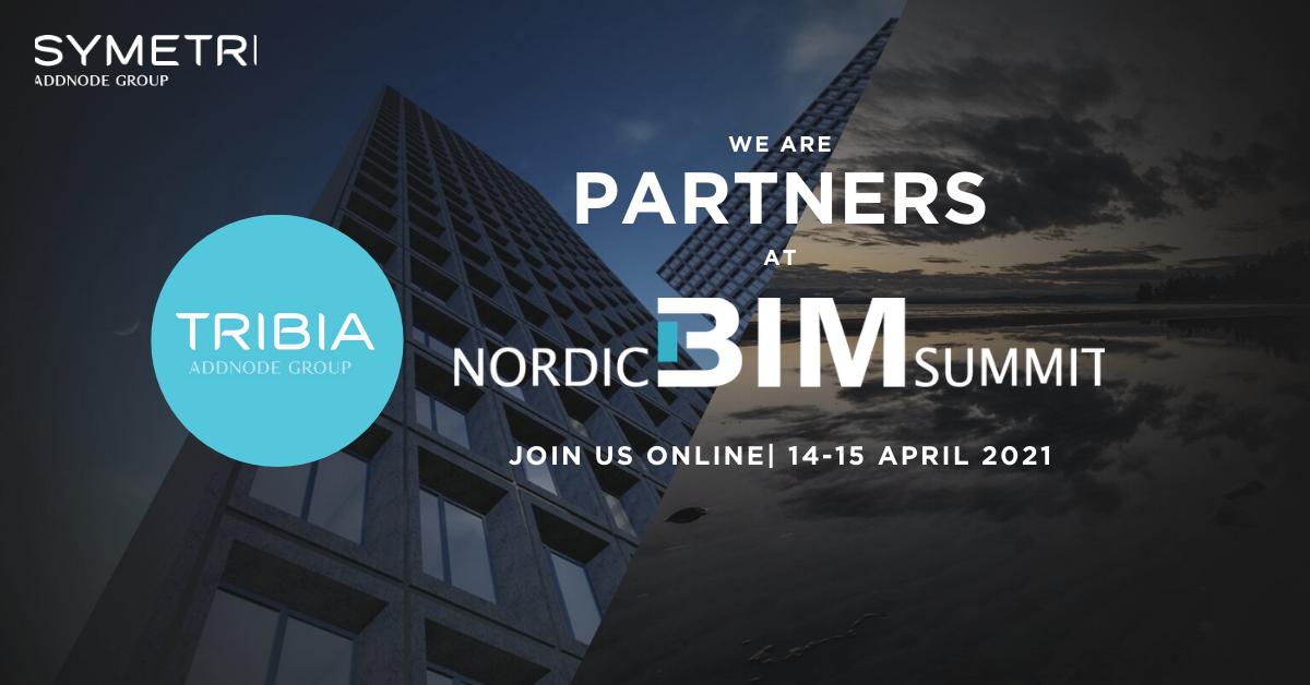 Bli med Tribia på Nordic BIM Summit 2021