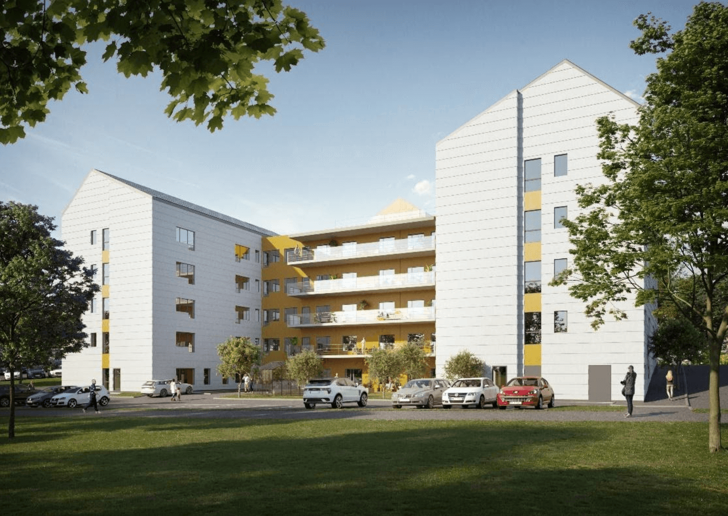 Slik benyttet Skanska Bimeye i prosjekt: Villa Brogården