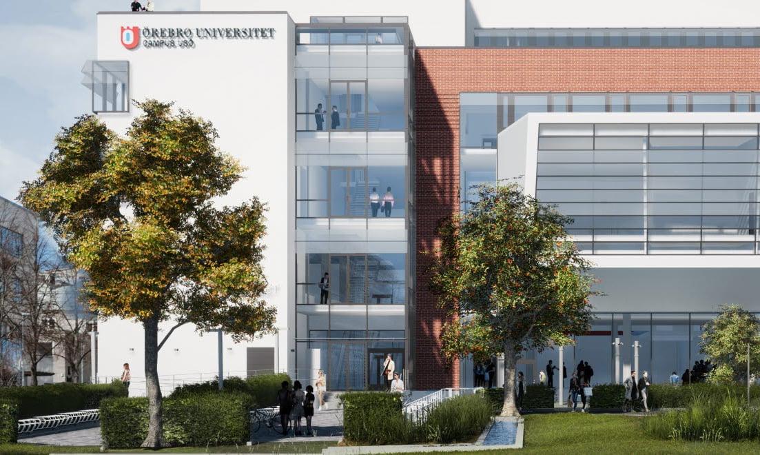 Serneke effektiviserer Prosjekt Campus USÖ ved hjelp av Interaxo og Unizite