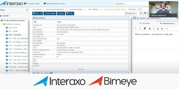 Webinar: BIM og sluttdokumentasjon koblet sammen – på vei mot en digital tvilling
